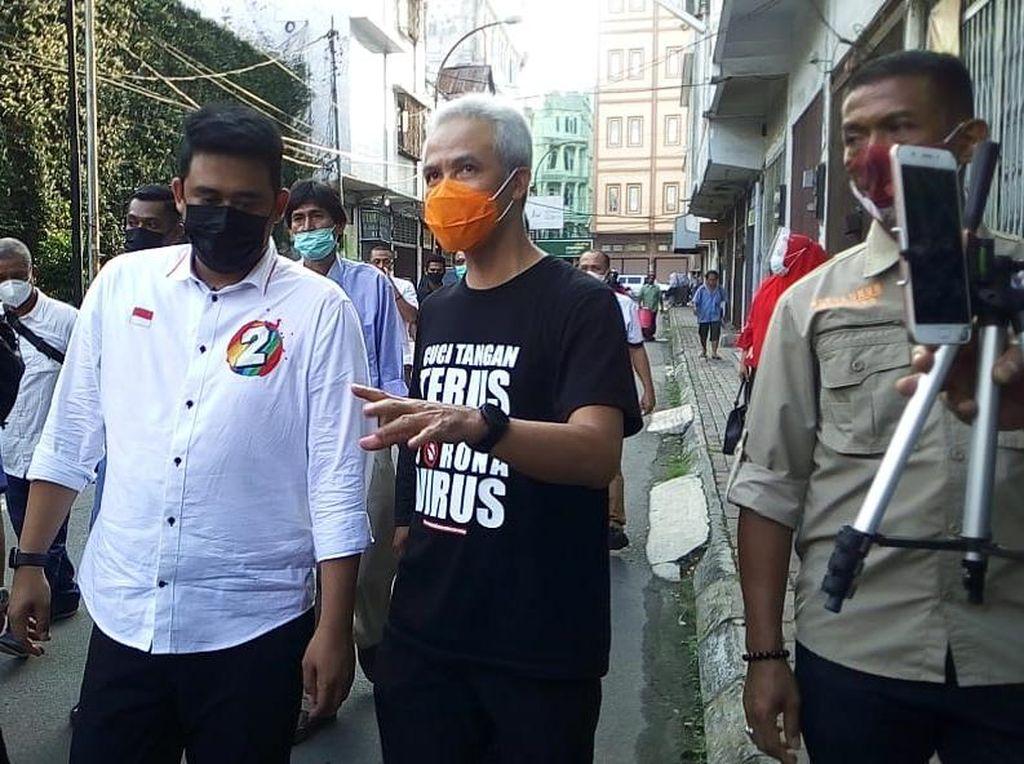 Ganjar Kampanyekan Bobby di Medan, PDIP Tepis Cek Ombak Pilpres 2024