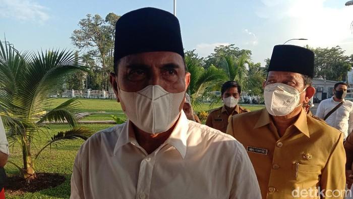Gubernur Sumatera Utara (Gubsu) Edy Rahmayadi (Ahmad Arfah/detikcom)