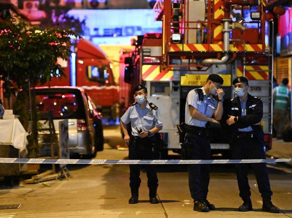 7 Orang Tewas dalam Kebakaran Apartemen di Hong Kong