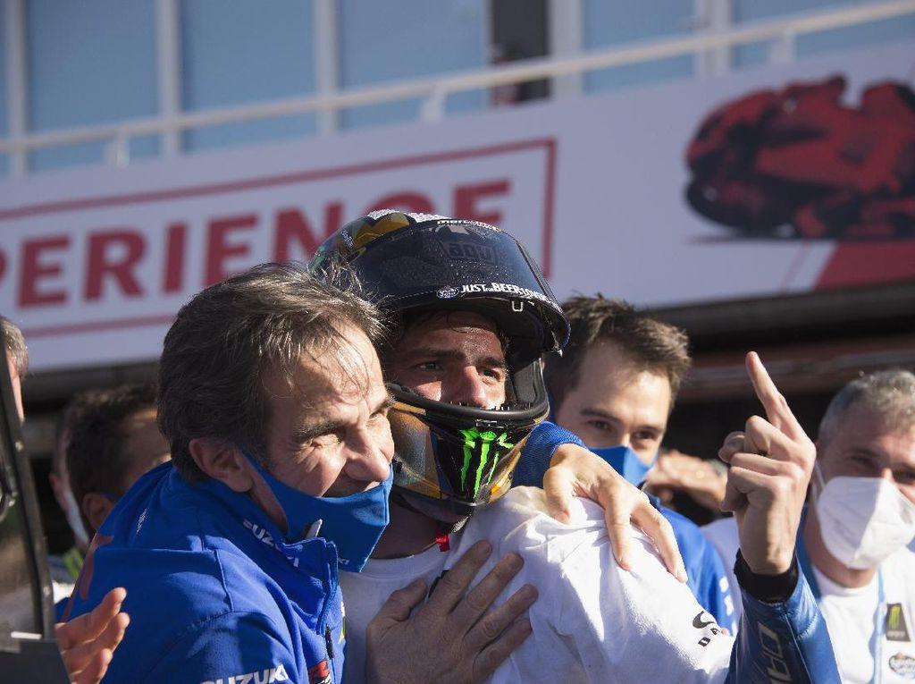 Joan Mir Juara MotoGP 2020, Catatannya Lebih Oke dari Rossi dan Marquez
