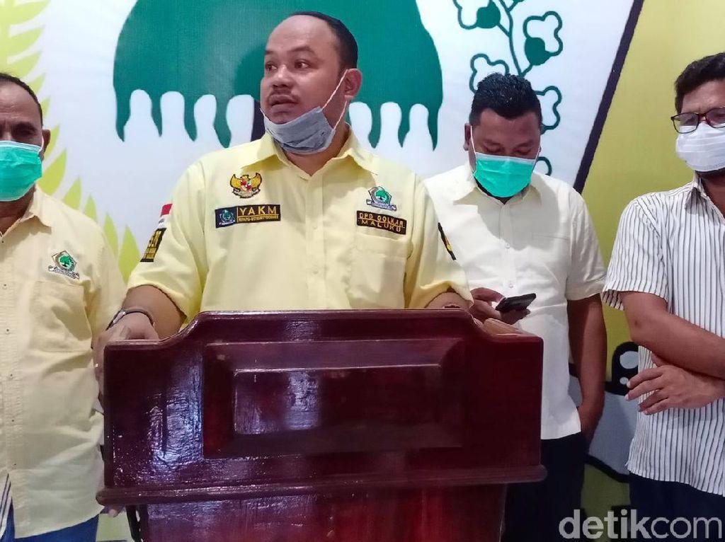 Dipolisikan, Ketua Bapilu Golkar Maluku Minta Maaf ke Polri-Kapolres SBT