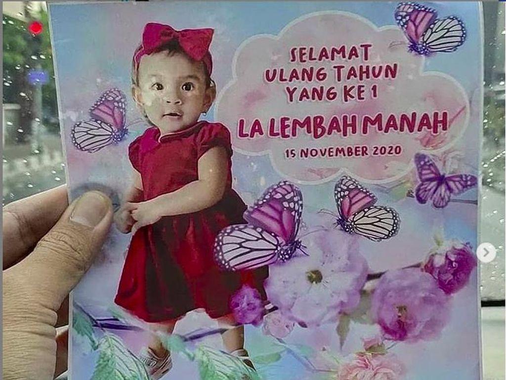 La Lembah Manah Ultah ke-1, Wajah Cucu Jokowi Itu Bikin Penasaran