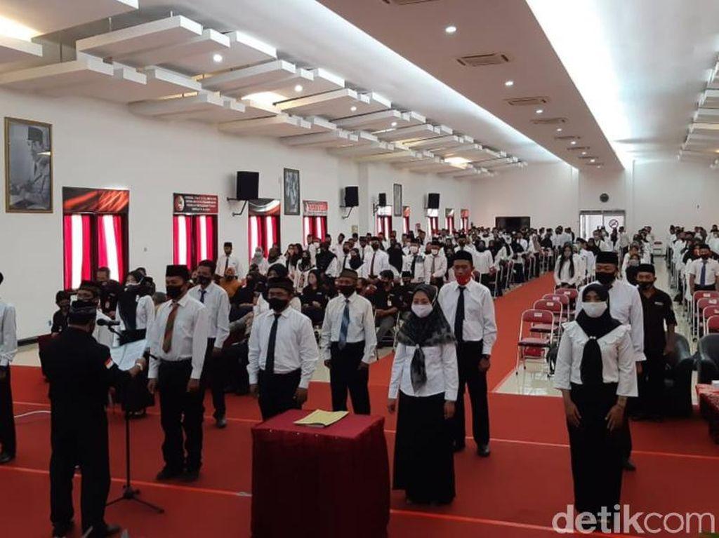 3.745 Pengawas TPS Pilbup Banyuwangi 2020 Dilantik