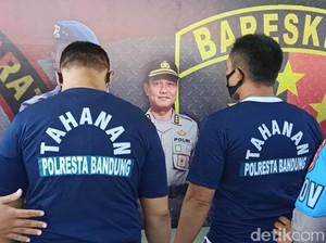 Buntut Aksi Brutal 5 Pria di Bandung, Kerabat Korban Bakar Rumah Tersangka
