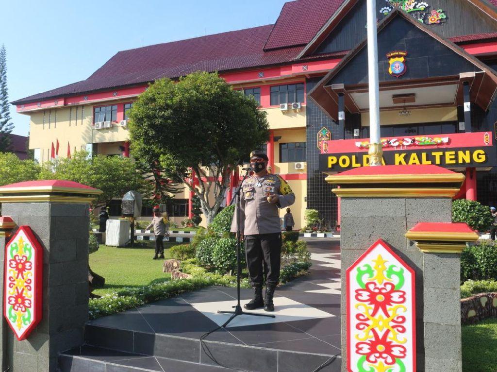 Persiapan Pilkada, Polda Kalteng Beri Pelatihan CRT untuk Personel