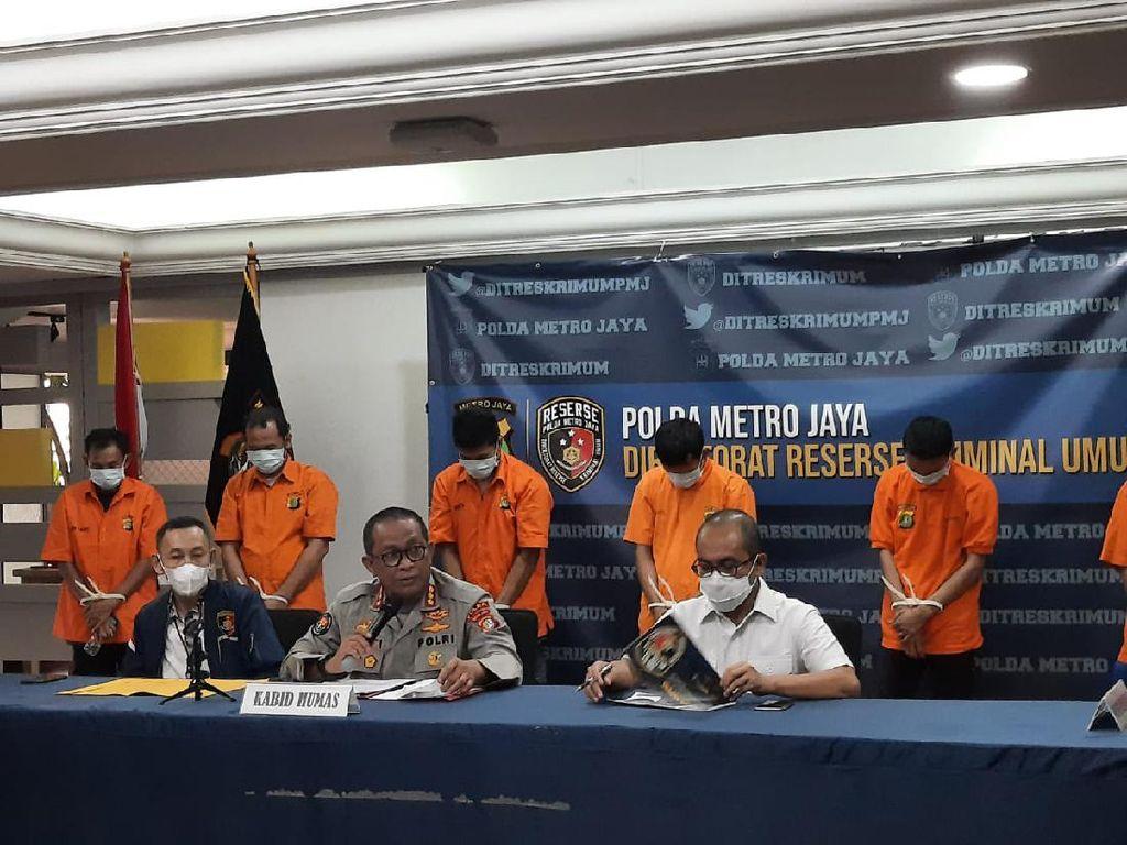 Polda Metro Tangkap Komplotan Pencurian Sepeda, 34 Unit Sepeda Disita