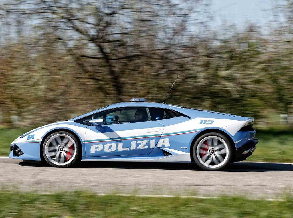 Polisi Italia Antar Donor Ginjal Sejauh 500 Km Pakai Lamborghini