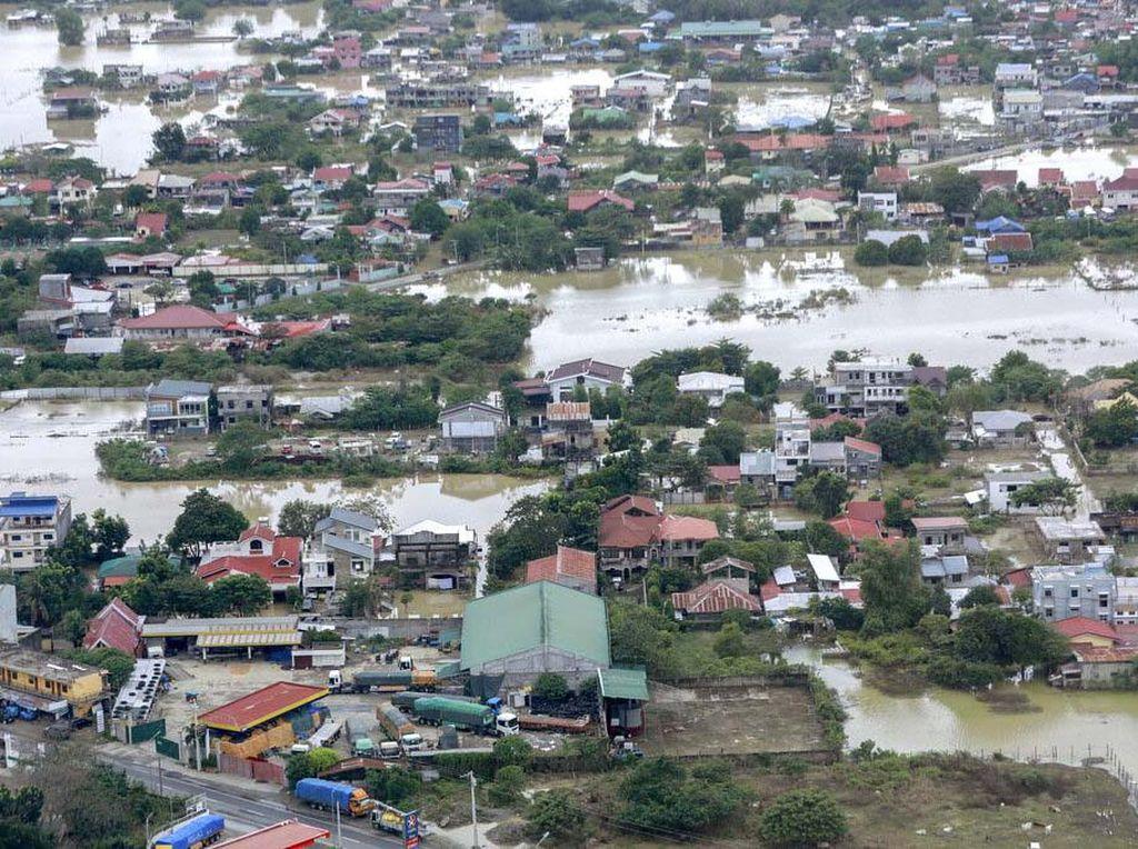 Potret Banjir Akibat Topan Vamco di Filipina