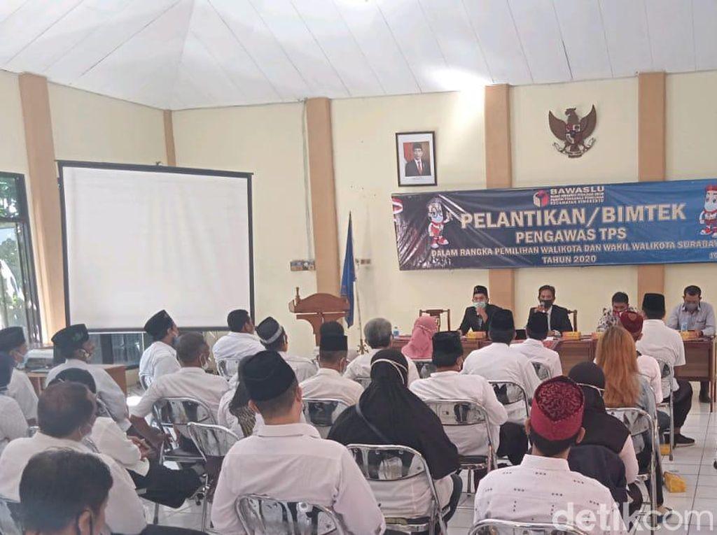 5.184 Pengawas TPS Pilwali Surabaya Dilantik