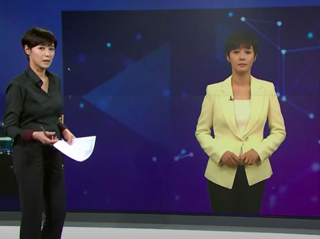 Korea Perkenalkan Pembawa Berita Jadi-jadian dari AI