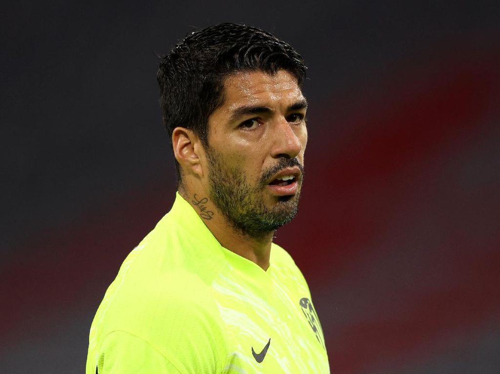 Luis Suarez Terluka karena Barca, Kini Bahagia dengan yang Lain