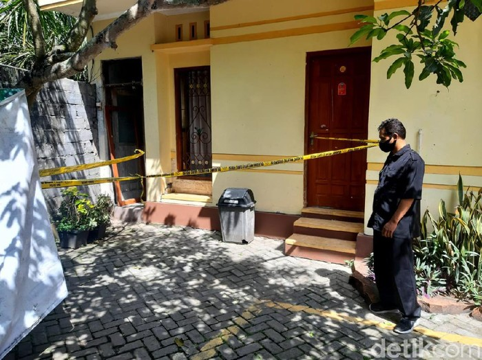 Suasana hotel TKP penemuan mayat gadis ABG di Bandungan, Kabupaten Semarang, Senin (16/11/2020)