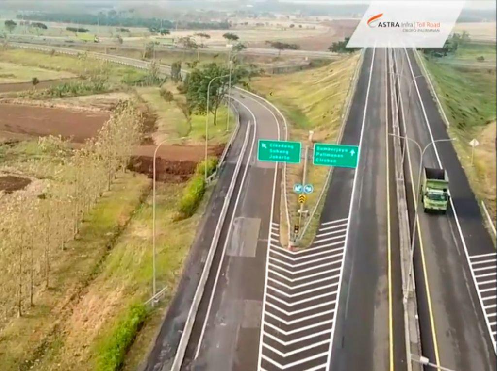 Intip Progres Jalan Tol Akses BIJB Kertajati