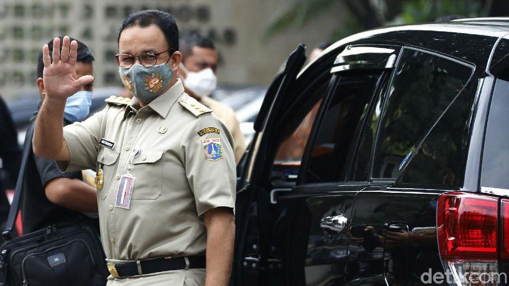 Anies Penuhi Panggilan Polisi Terkait Kerumunan Acara Habib Rizieq