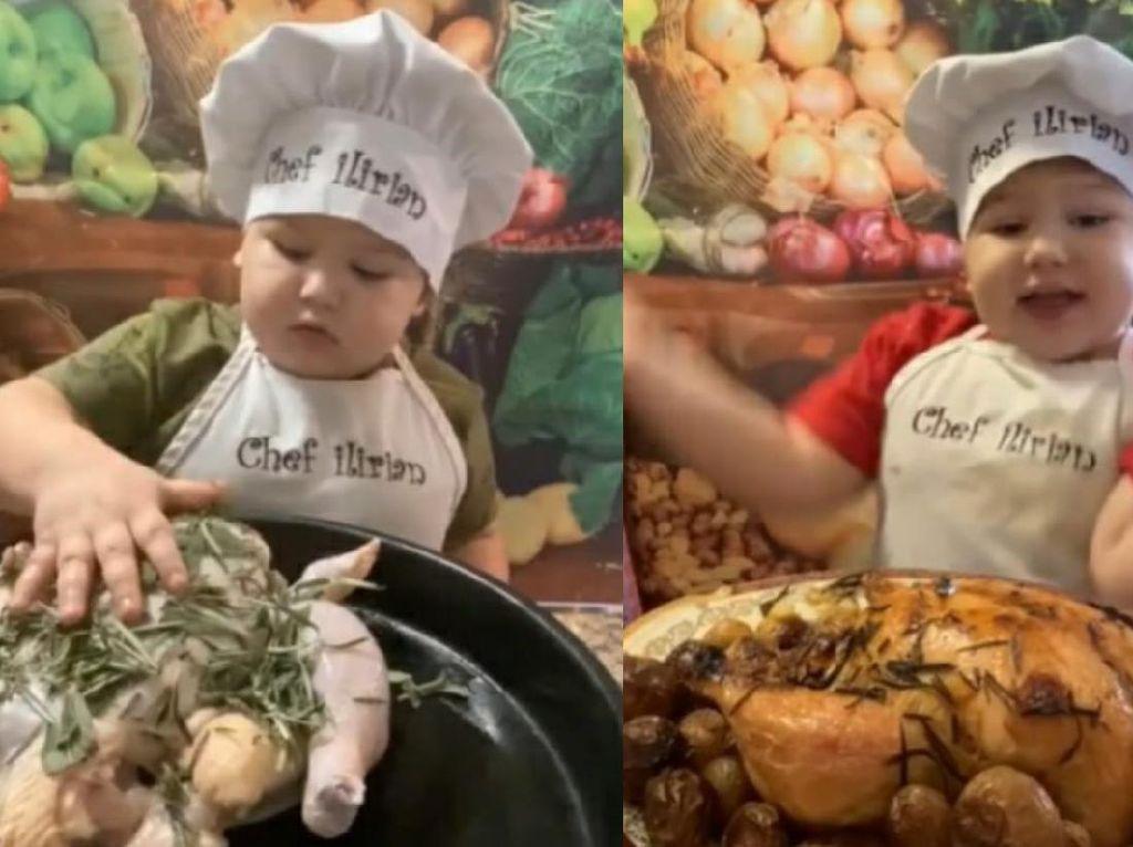Kenalan Sama Chef Ilrian, Chef 2 Tahun yang Jago Masak Ayam Panggang