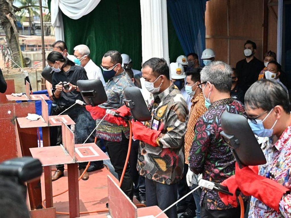 Kemenhub Bangun 4 Kapal untuk Pariwisata di Labuan Bajo & Bunaken