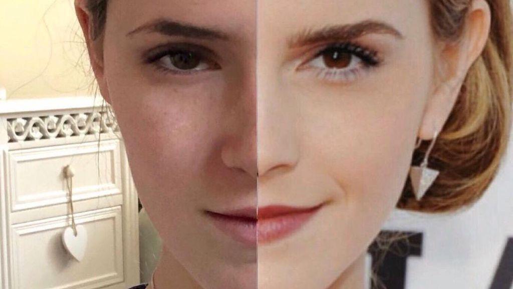 Remaja Ini Viral karena Mirip Emma Watson, Wajah Mereka Sulit Dibedakan
