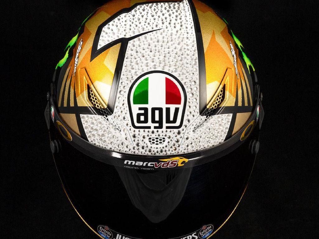 Penampakan Helm AGV Joan Mir Seharga Rp 20 Juta