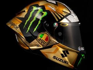 Helm Juara Dunia MotoGP Joan Mir Harganya Rp 20 Juta