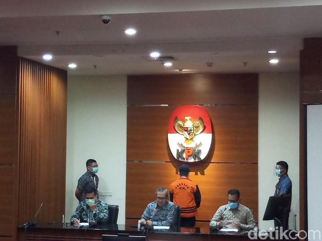 KPK Tahan Wali Kota Dumai Tersangka Suap di Kasus Mafia Anggaran