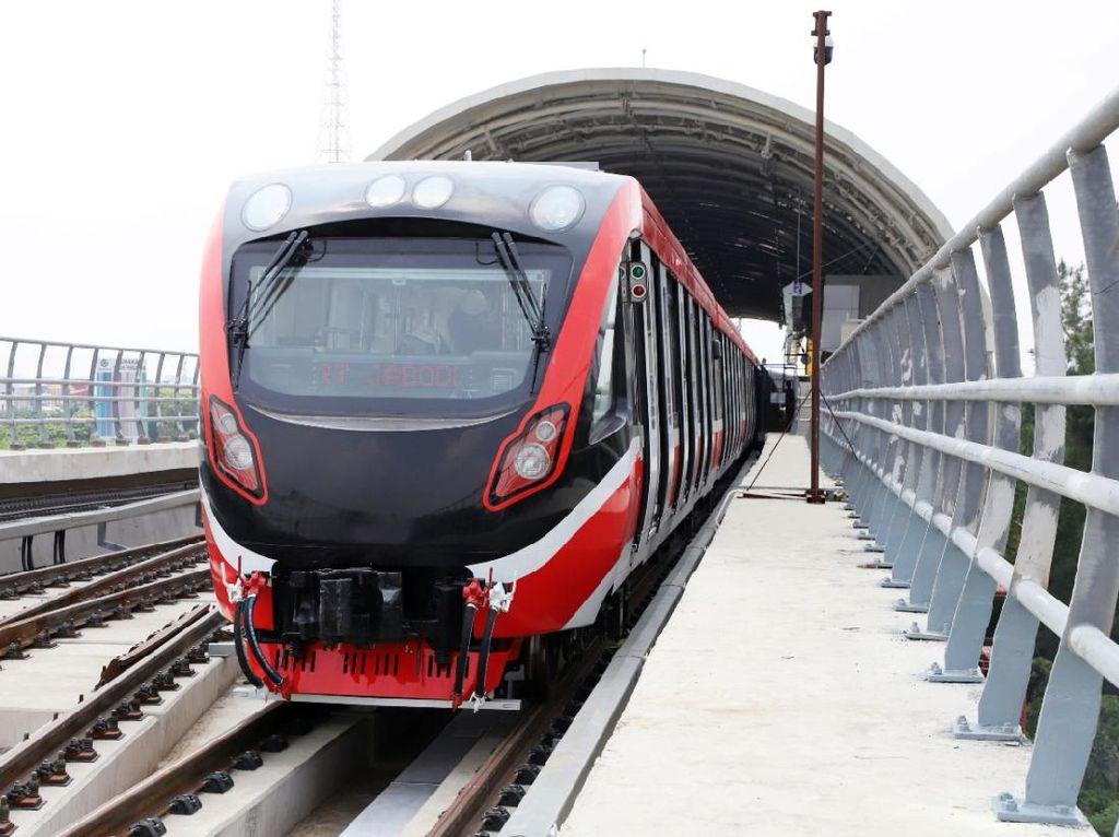 LRT Jabodebek Jalani Uji Sarana Menuju Beroperasi
