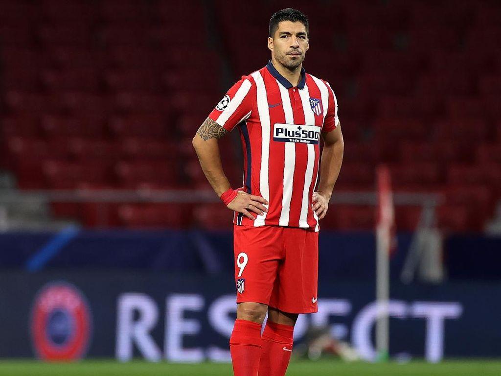 Luis Suarez Positif Corona, Batal Reuni dengan Barcelona