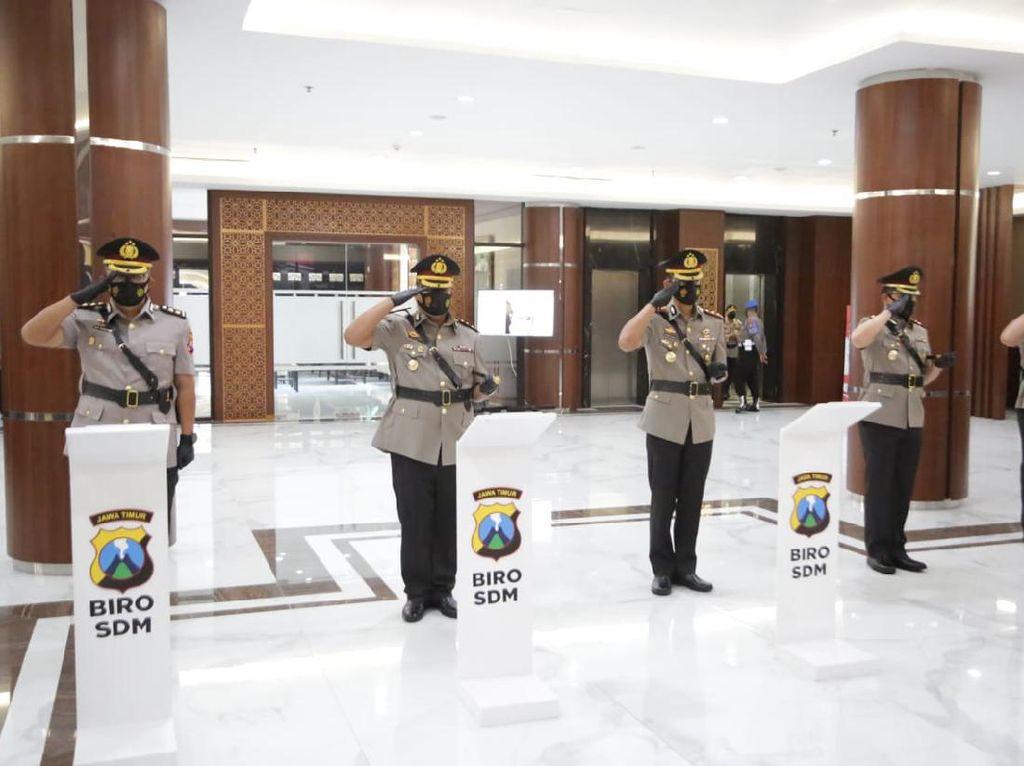 Jabatan Sejumlah Kapolres di Jatim Resmi Berganti