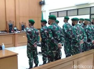 Kabar 11 Prajurit TNI Diadili Usai 9 Bulan Pengeroyokan Jusni