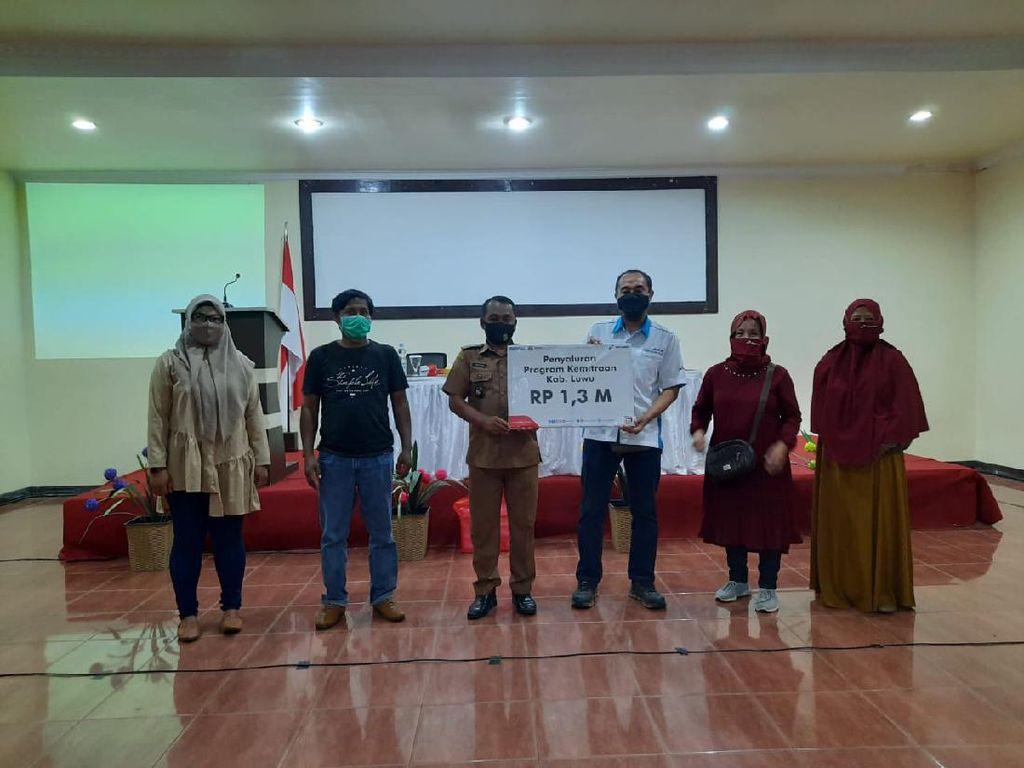 Pertamina Beri Bantuan Senilai Rp 1,3 Miliar ke 33 UMKM di Luwu