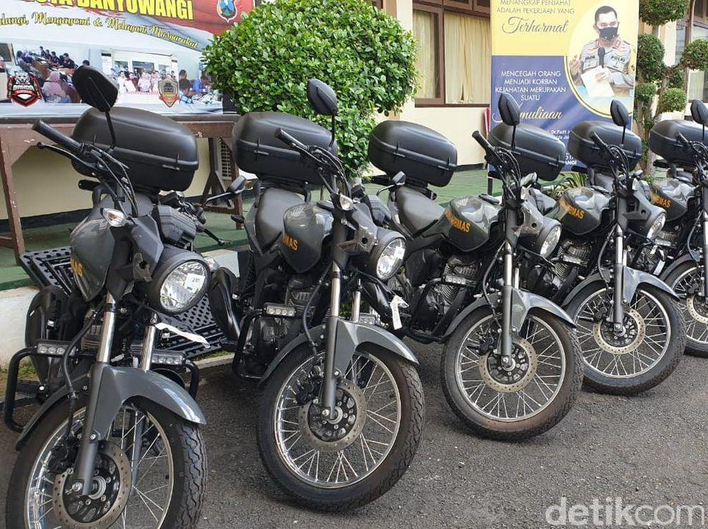 Polisi Banyuwangi Siapkan APD hingga Puluhan Motor Jelang Pilbup