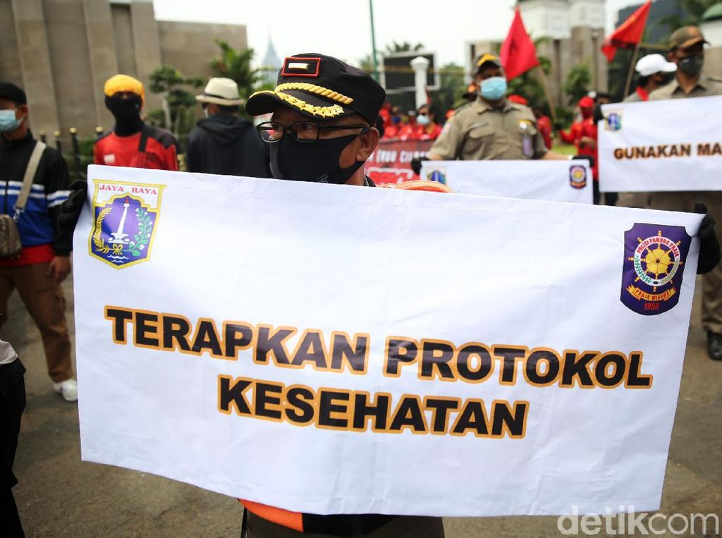 Buruh Mau Demo di BPJS TK-Kejagung, Anggota DPR Wanti-wanti soal Corona