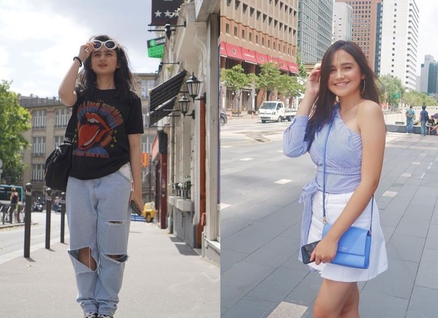 Syifa Hadju dan Tissa Biani adu gaya street wear/instagram.com/tissabiani/syifahadjureal