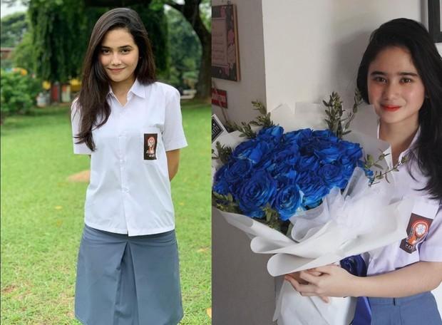 Syifa Hadju dan Tissa Biani sama-sama masih cocok pakai seragam SMA/instagram.com/tissabiani/syifahadjureal