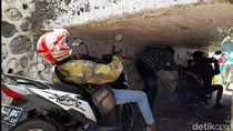 Terowongan Super Pendek yang Paksa Pemotor Kayang hingga Rebahan