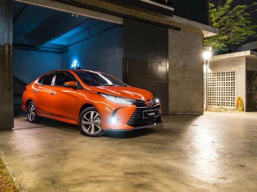 Potret Toyota Vios yang Kini Dapat Fitur Safety Canggih Seperti Corolla dan Yaris