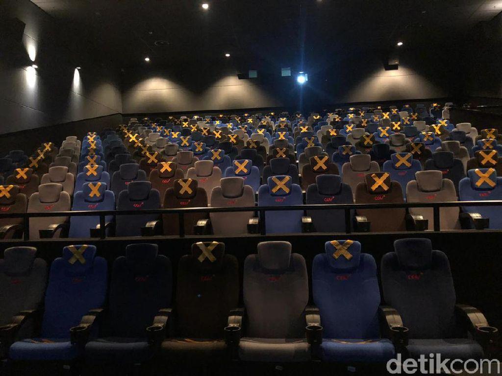 Layar Bioskop di DKI Sudah Terkembang, Begini Suasananya