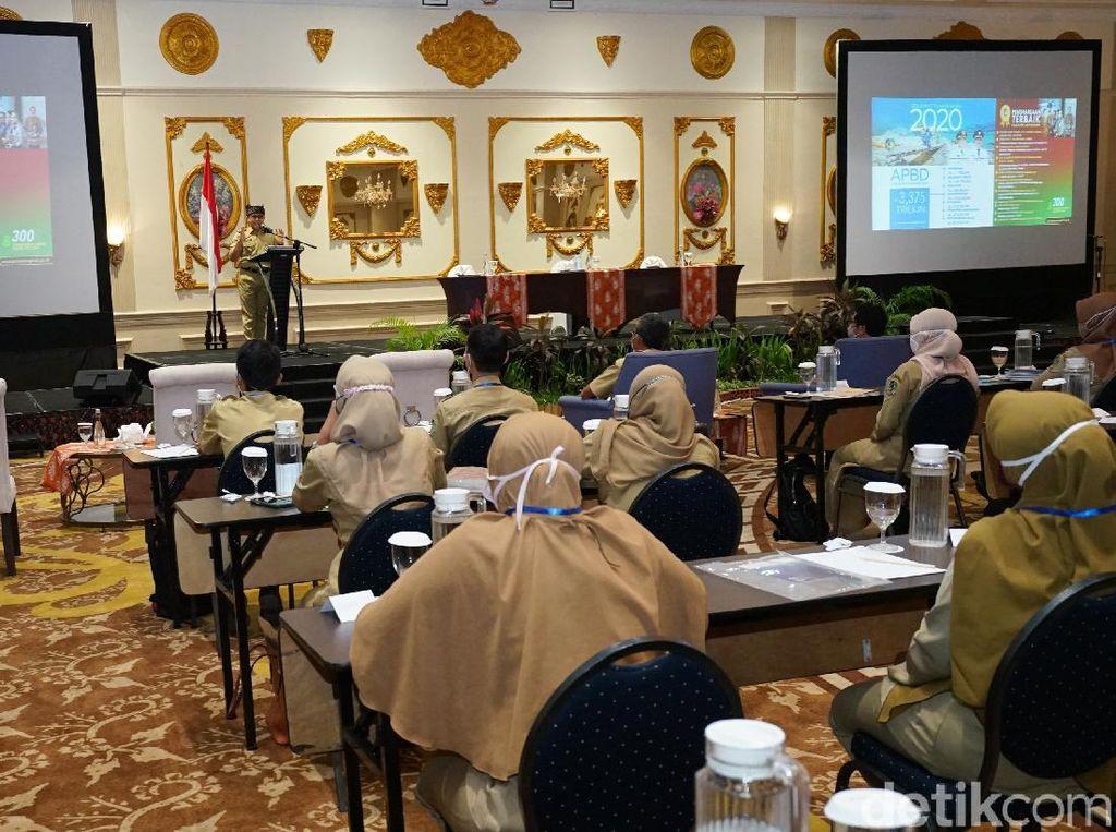 Bupati Anas Ajak Kepala Desa Dan BPD Tingkatkan Sinergi Majukan Desa