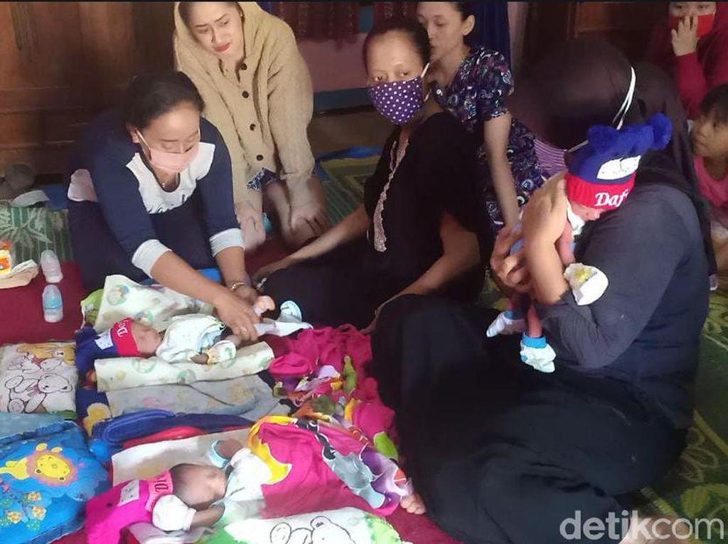 Ibu Bayi Kembar Tiga yang Disebut Utang Rp 43 Juta Buka Suara