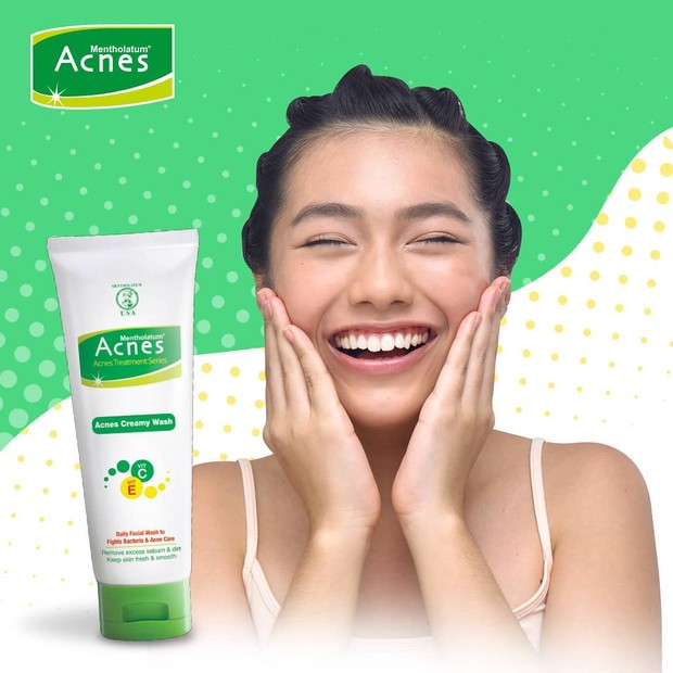 Facial wash untuk kulit berjerawat dari acnes