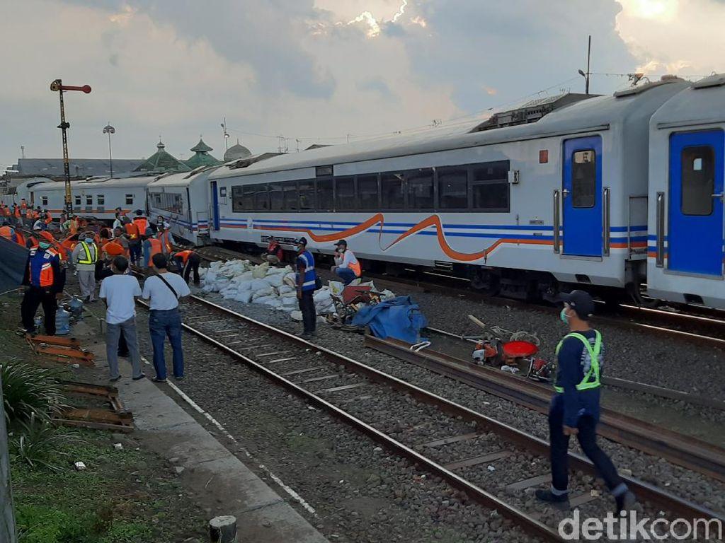 Gerbong Kereta Api Meluncur Sendiri Bukan Pertama Kali Terjadi di Malang