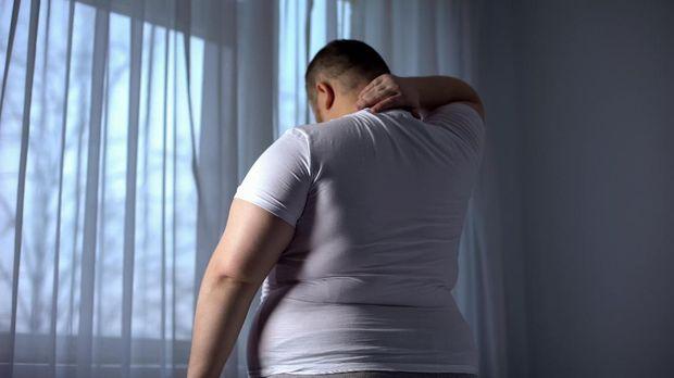 ilustrasi orang berbadan gemuk