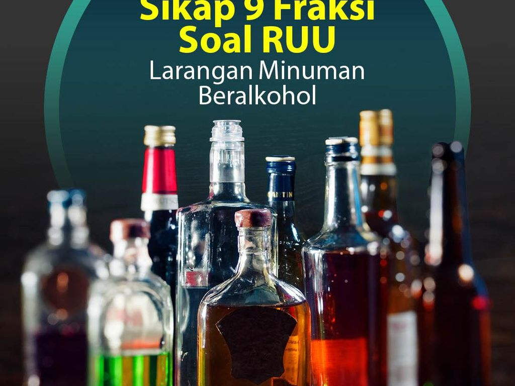 Kuot Politik: Sikap 9 Fraksi Soal RUU Larangan Minuman Beralkohol