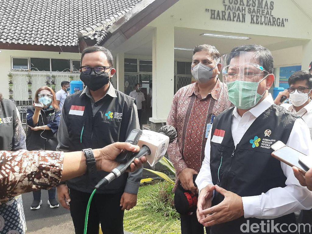 Simulasi Vaksinasi Covid-19 di Bogor, Menkes: Supaya Tak Gagap