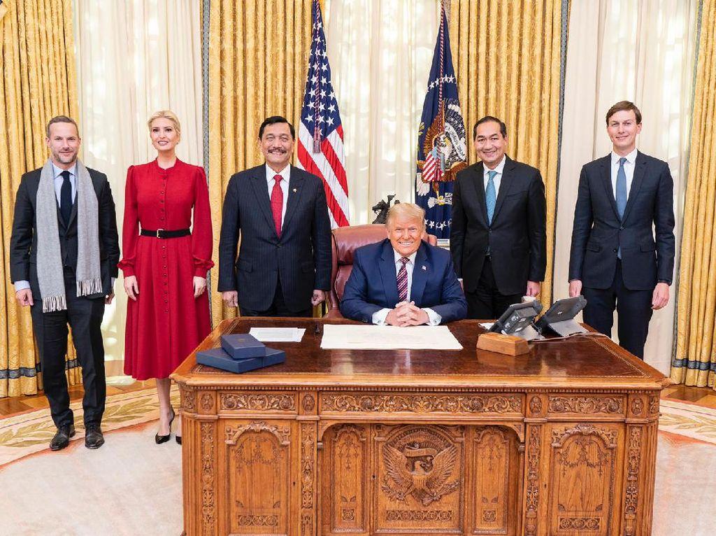 3 Cerita Luhut Bolak-balik 4 Kali ke Gedung Putih