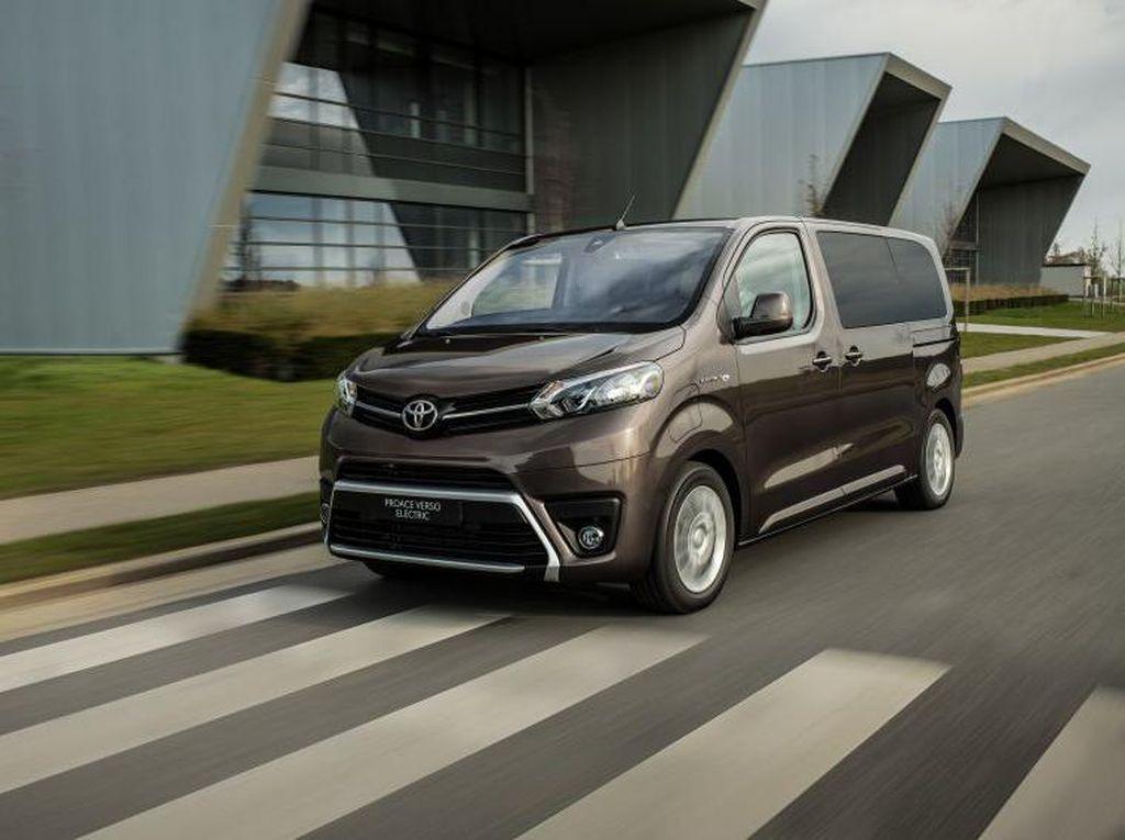 Toyota Luncurkan Mobil Listrik Pintu Geser, Begini Wujudnya