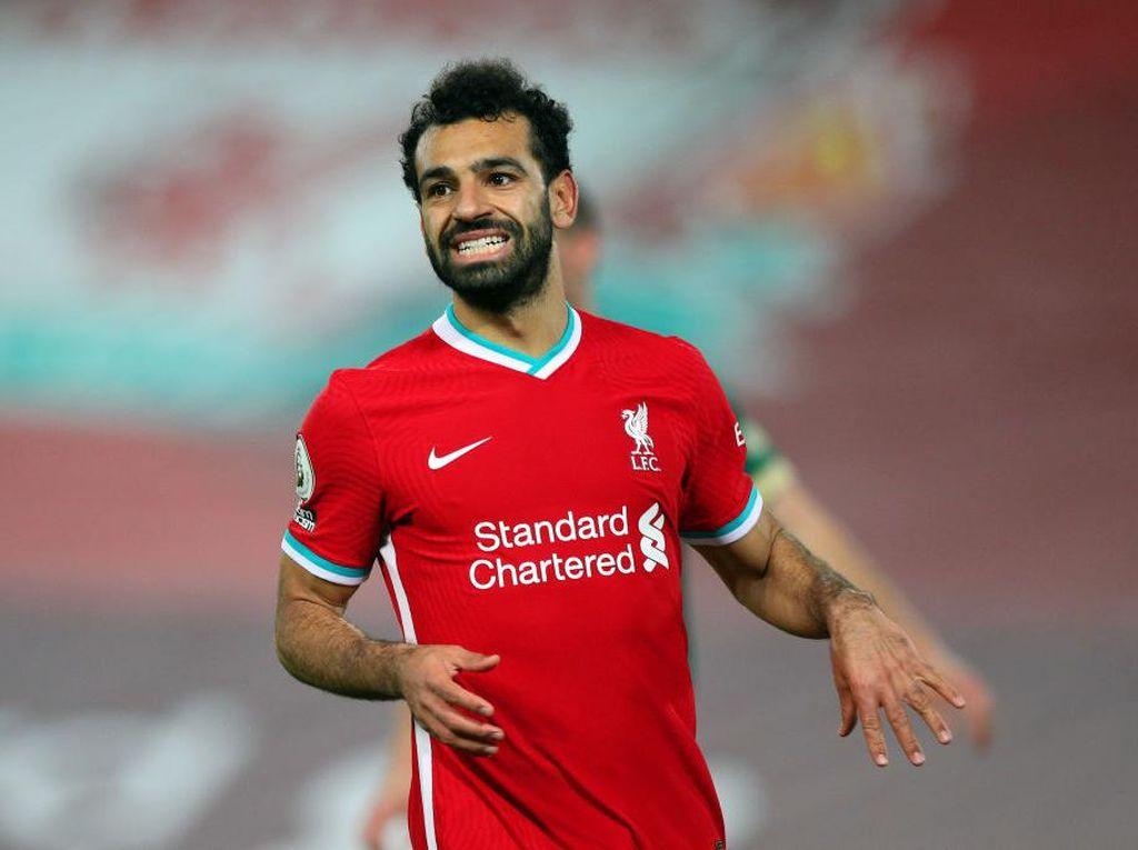 Hasil Tes Kedua Keluar, Mohamed Salah Masih Positif COVID-19