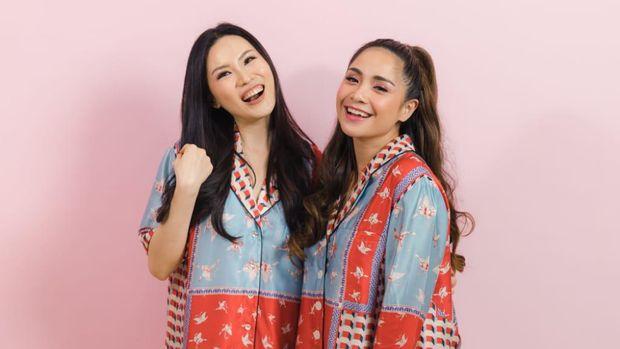 Nagita Slavina & Cynthia Tan