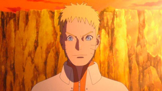 Naruto di komik Boruto.