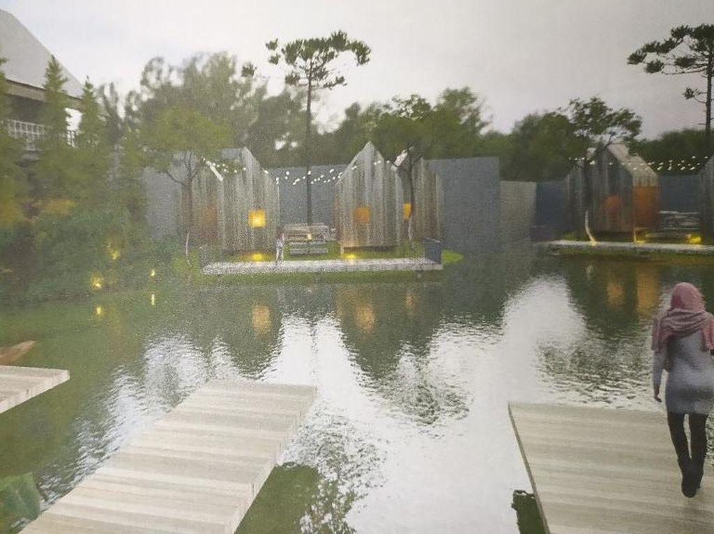 Ini Rancangan Baru untuk Kolam Renang Peninggalan Belanda di Ciamis