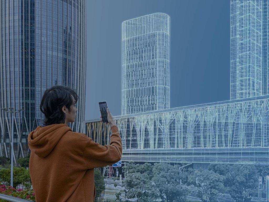 OPPO AR Glass 2021, Hadirkan Visual Apik Layaknya Layar 90 Inci